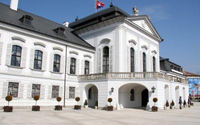 PREZIDENSTKÝ PALÁC MÁ HISTORICKÚ PRÍLEŽITOSŤ STAŤ SA LÍDROM OZDRAVENIA KLÍMY NIE LEN SLOVENSKA